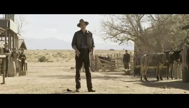 Watch and share A Million Ways To Die In The West - Showdown With Foy - HD GIFs on Gfycat