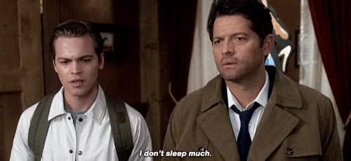 Watch and share Misha Collins GIFs and Celebs GIFs by Squirrel on Gfycat