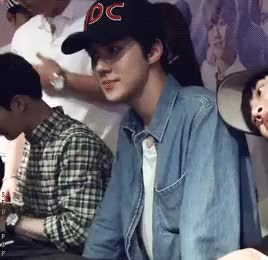 Watch my lil' angel GIF on Gfycat. Discover more 150812, LMR beijing fansign, alledits, exedits, exo, let me cry to sleep again and again^^, oh sehun, sehun GIFs on Gfycat