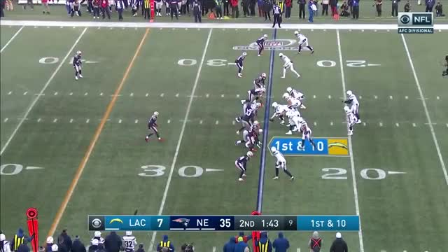 Watch Chargers vs. Patriots Divisional Round Highlights | NFL 2018 Playoffs GIF on Gfycat. Discover more 00, 2018, Chargers, Division, Dt, Highlights, Sp, Sports, afc, divisional, highlight, home, ne, nfl, pats, play, season, td, touchdown, vl GIFs on Gfycat