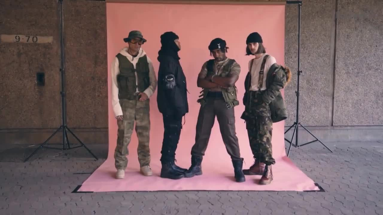 All Tags, Kyra, PAQ, blazendary, crusco, dexthefreak, highsnobiety, icykof, kyratv, qias, streetstyle, HARDCORE Military Outfit challenge | PAQ Ep #30 | A Show About Streetwear GIFs