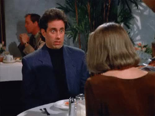 Watch and share Jerry Seinfeld GIFs and Smh GIFs by Reactions on Gfycat