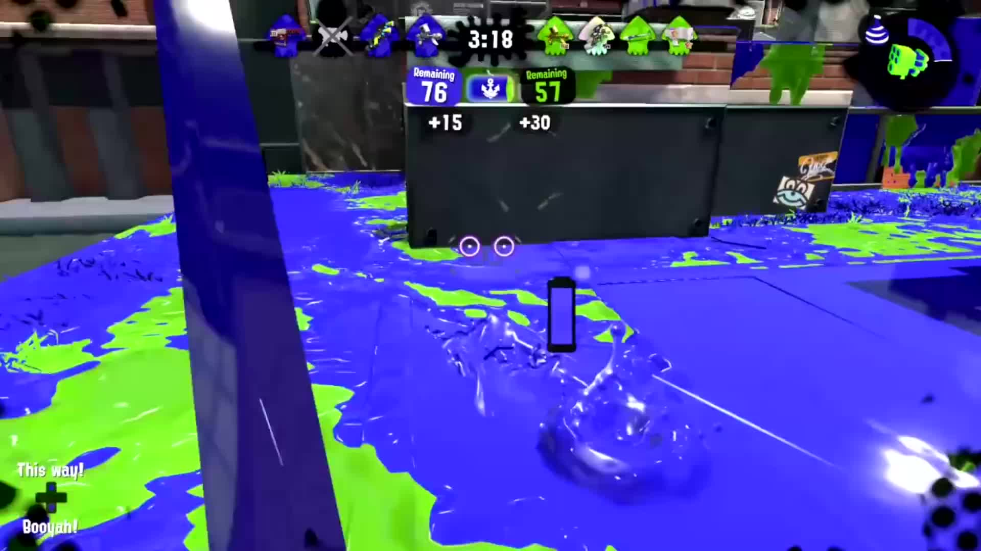 Failboat, Fails, Splatoon, Splatoon 2, Splatoon 2 Fails, Splatoon Fails, Sploon, funniest moments, let's play, montage, Splatoon 2 but some funny stuff happens「3」 GIFs