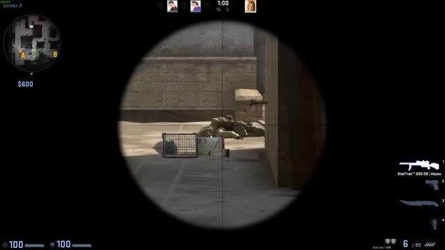 Watch and share Scout Wallbang Dust2 GIFs by dedumflame on Gfycat