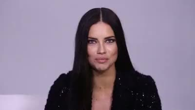 Watch Adriana Lima is my Angel GIF on Gfycat. Discover more Adriana Lima, angel, cute, face closeup, funny, gif, goddess, gorgeous, link, lovely, smile, word games GIFs on Gfycat