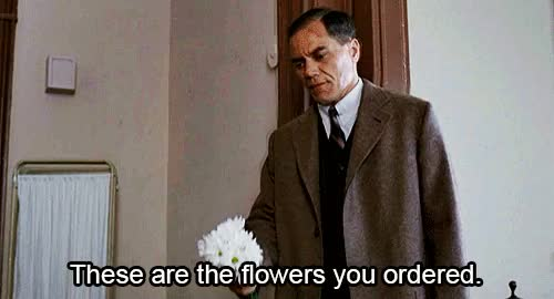 Watch and share Michael Shannon GIFs and Flowers GIFs on Gfycat