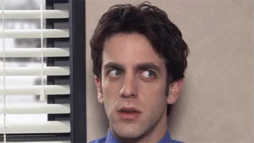 Watch and share Ryan The Office Confused GIFs on Gfycat