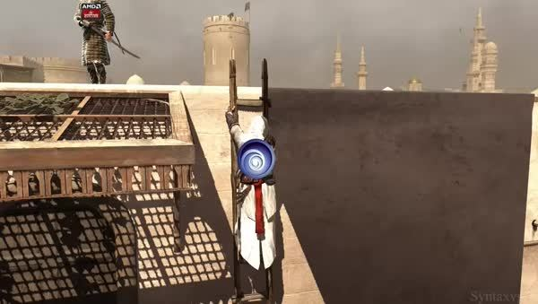 Ubisoft tries to blame AMD GIFs