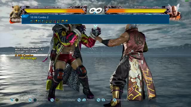Watch and share Tekken 7 King Combo 2 GIFs by IveGotNoLife on Gfycat