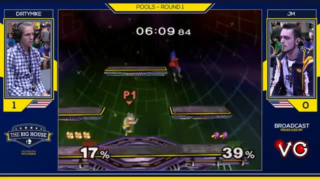 TBH6 SSBM - Dirtymike (Fox) Vs. JM (Falco) - Smash Melee Pools