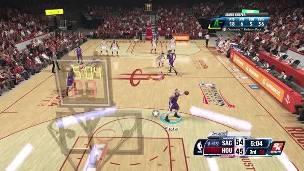 nba2k, Broke Jeremy Lin's ankles and posterized Dwight. (reddit) GIFs