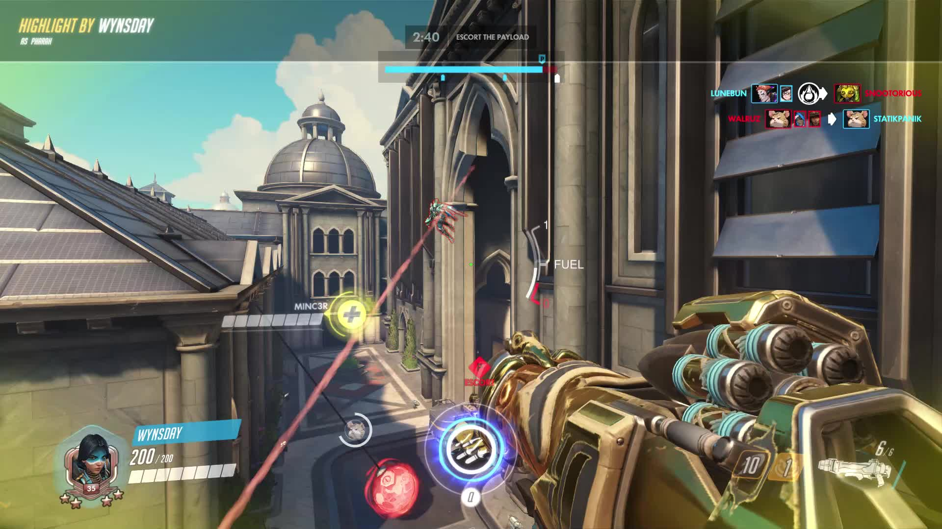 highlight, overwatch, pharah, Nailed it GIFs