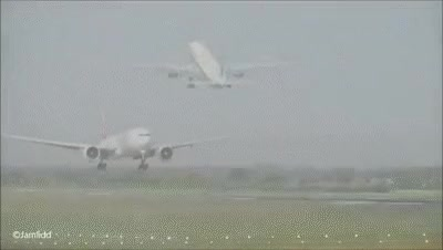 Watch and share 9 Very Close Takeoffs & Landings: A380, 777, 787, A330, 757, 767, A319 Manchester Airport GIFs on Gfycat