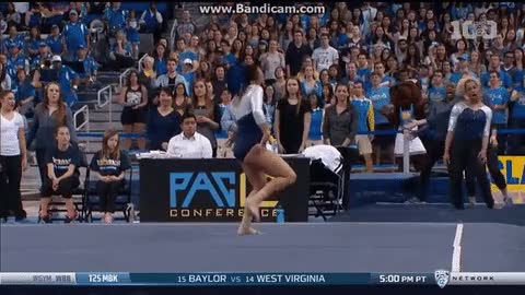 Watch ucla gymnast nae nae GIF on Gfycat. Discover more related GIFs on Gfycat