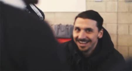 Watch and share Zlatan Ibrahimovic GIFs and Celebs GIFs on Gfycat