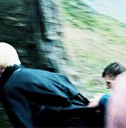 *gifs, 5k, Draco Malfoy, HARRY POTTER SAGA, Hermione Granger, Ron Weasley, hp gifs, hpedit, livin la dolce vita GIFs