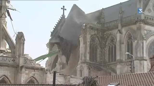 Watch French Church being demolished GIF on Gfycat. Discover more Film & Animation, atheism, brainburger, church, demolition GIFs on Gfycat