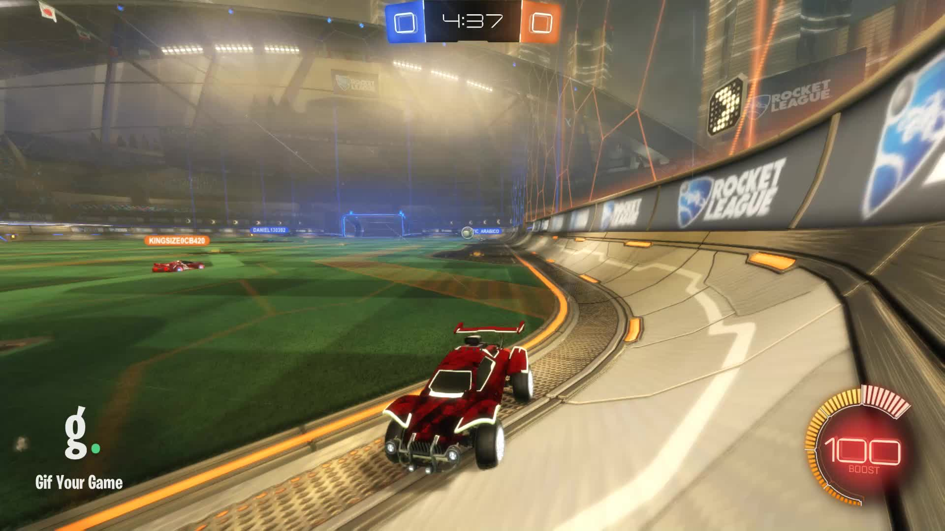 Gif Your Game, GifYourGame, Goal, Horizon, Rocket League, RocketLeague, Goal 1: Horizon GIFs