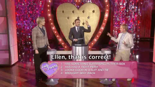 Watch and share Ellen Game Shows GIFs on Gfycat