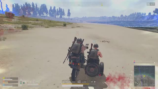Watch Triple Threat GIF by millertime144 on Gfycat. Discover more PUBG, glitch, still won the round, stuck the landing GIFs on Gfycat