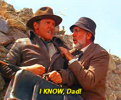 dad, harrison ford, i know, sean connery, Sean connery GIFs