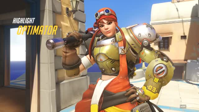 Watch and share Overwatch GIFs and Brigitte GIFs by deftone37 on Gfycat