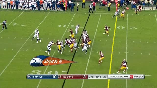 Watch and share Washington Redskins GIFs and Denver Broncos GIFs on Gfycat