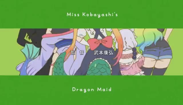 Watch Kobayashi-san Chi no Maid Dragon Opening GIF on Gfycat. Discover more related GIFs on Gfycat