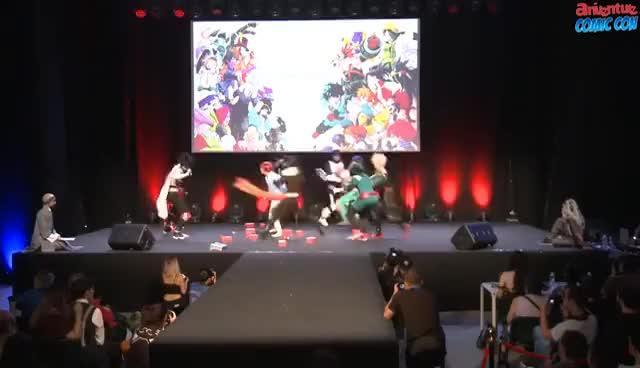 Watch and share Bakugo Deku GIFs on Gfycat