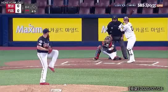 Watch and share  야구장 살인 미수범 수준 ㄷ Gif GIFs by podong on Gfycat