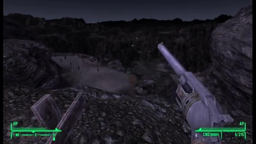 Bug, Buggy, Fall, Fallout, Glitch, Glitches, Guns, New, Vegas, out, Fallout New Vegas Reload Glitch: Very Helpful in battle GIFs