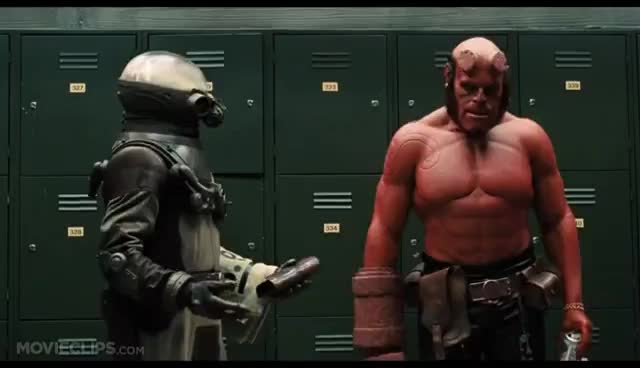punch, Hellboy GIFs