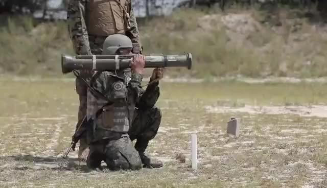 Watch USMC M136 AT4 Anti-tank rockets and SMAW live fire GIF on Gfycat. Discover more related GIFs on Gfycat