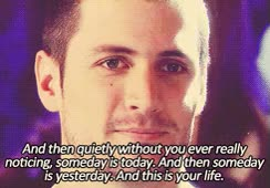 Watch and share Brooke Davis One Tree Hill *gif Haley James Scott Nathan Scott OTH Quotes GIFs on Gfycat