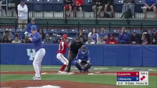 Watch and share SEC Network - 🚨 TRIPLE PLAY 🚨  @UKBaseball Converts Your Every Day 7-2-6 Triple Play. GIFs by Baseball America on Gfycat