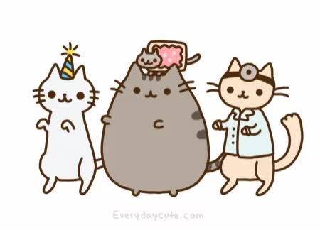 Watch and share Pusheen GIFs on Gfycat
