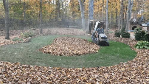 Watch and share Super-Sizing Leaf Collection; Hackers Doing Yardwork GIFs on Gfycat