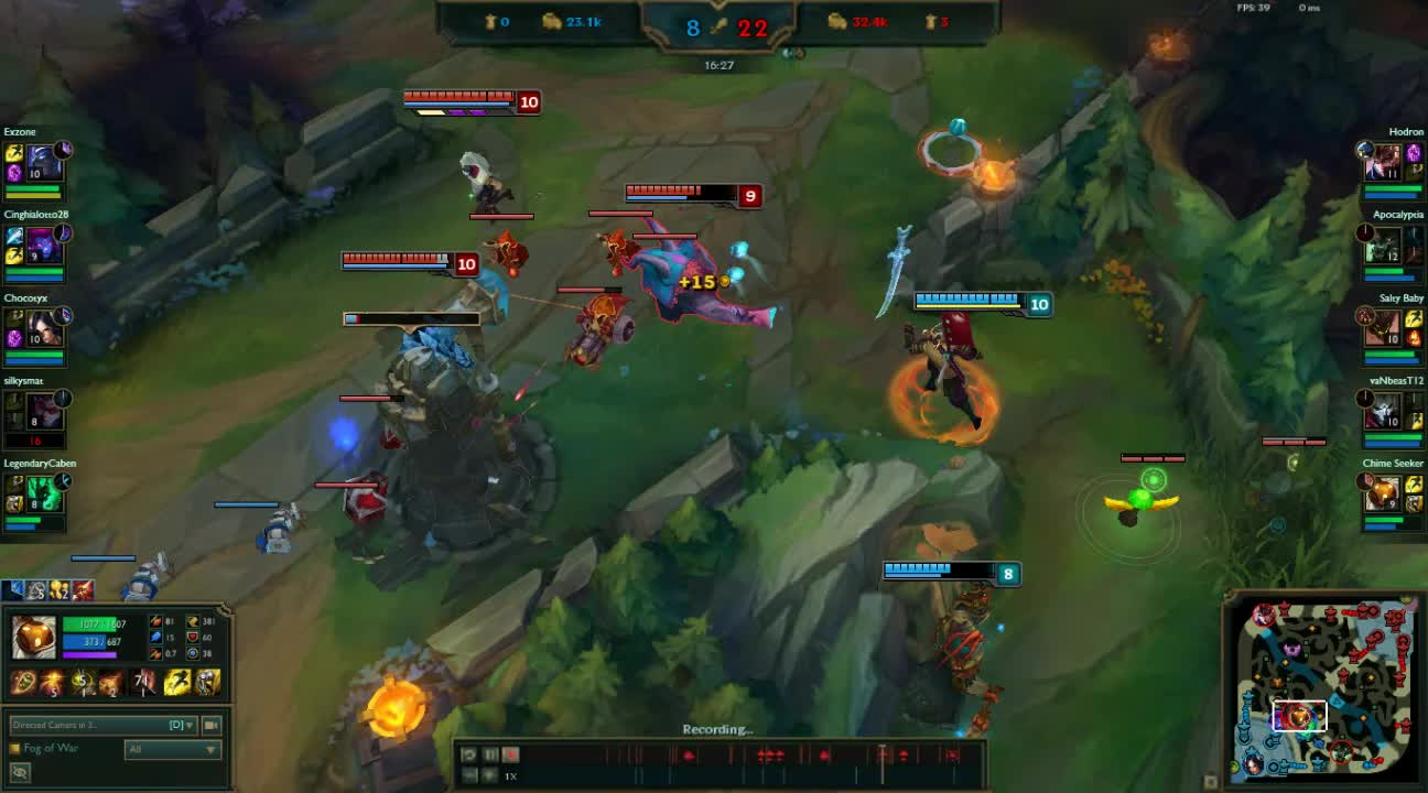bardmains, ADC suffering GIFs