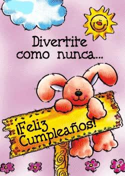 Watch and share Divertite Como Nunca... ¡Feliz Cumpleaños! GIFs on Gfycat