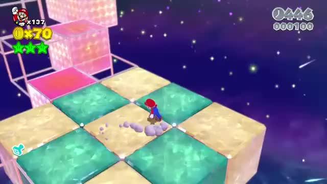 Watch and share Super Mario 3D World - Champion's Road No Power-Up Run (Mario) [YT-f43][iO9TKNNQeDw].dur GIFs on Gfycat