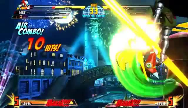 Dr. Doom, Marvel vs Capcom 3, Zero, Zero joins MvC3! GIFs