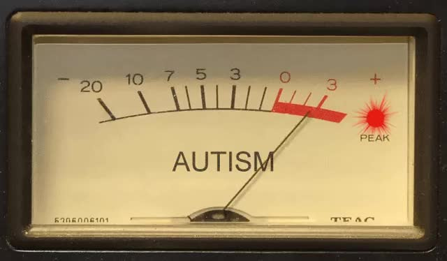 Watch and share Autism Meter GIFs on Gfycat