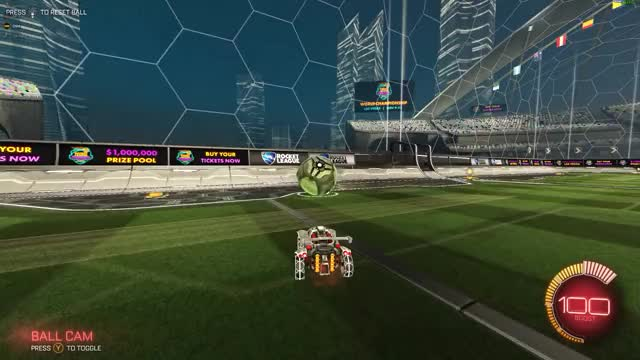 Watch and share Rocket League GIFs and Ceiling Shot GIFs by Moose on Gfycat