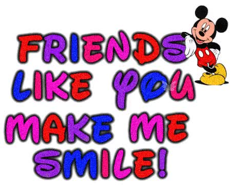 Watch and share Friends Like You Make Me Smile animated stickers on Gfycat
