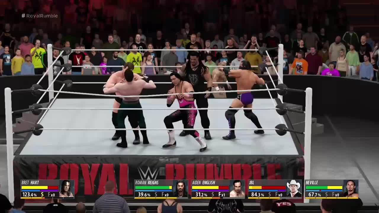 2k16, WWE, wwegames, Bret Hart Adopts the Force - WWE 2K16 GIFs