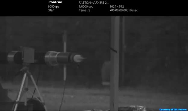 Watch discarding sabot dart slow motion 6000 frames per second GIF on Gfycat. Discover more related GIFs on Gfycat