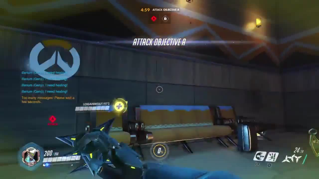 overwatch, riv - #PS4share GIFs