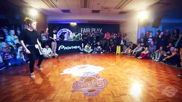 Watch and share Dominika Vs Jasu | Pioneer Battle | 1/8 Final | Fair Play Dance Camp 2015 Winter (reddit) GIFs on Gfycat