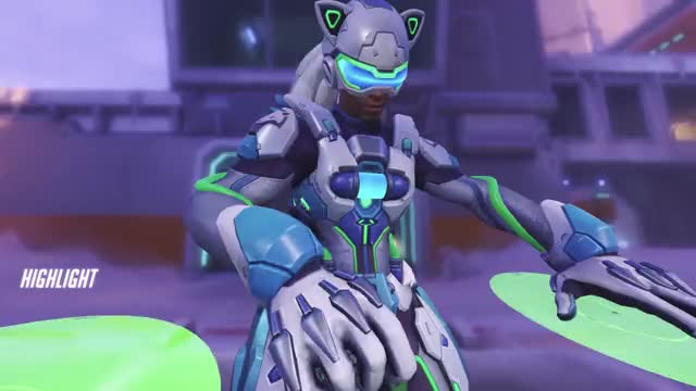 Watch and share Highlights GIFs and Overwatch GIFs by HellsBells on Gfycat