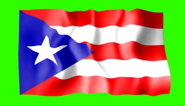 Watch and share Puerto Rico Waving Flag - Green Screen Animation GIFs on Gfycat